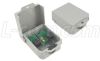 Outdoor Med Power 10/100 Base-T CAT5 - RJ45 Jacks -- AL-CAT5JW