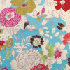 Floral Printed Velvet Fabric -- R-Cisco -- View Larger Image