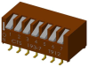 DIP Switches -- 193-7MSN-ND - Image
