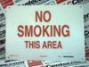 NO SMOKING SIGN (72148) -- 72148
