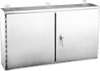Continuous Hinge Two-Door with 3-Point Latch, Type 12 -- A244808WFSSLP