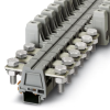 Feed-through Modular Terminal Block -- UHV 50-M10/M10 - 2130211