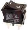 Switch, Rocker, Miniature, DPST, SolderTerminalS -- 70175937 - Image