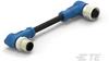M8/M12 Cable Assemblies -- T4162214004-005 -- View Larger Image