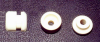 Steatite Feed-thru Insulator -- 6-91 / 6-92 / 6-93 / 6-94 -Image