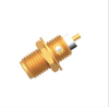 RF Coaxial Panel Mount Connector -- SDT22537-2A