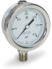 Stainless Steel High Temperature Pressure Gauge -- 6071 - Image