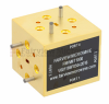 WR-10 Magic Tee Waveguide Using UG-387/U-Mod Round Cover Flange and Operating from 75 GHz to 110 GHz -- FMWMT1000 - Image