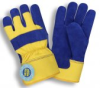 Insulated Leather Palms Gloves(1 Dozen) -- 7465