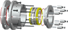 Double Mechanical Seal With a Mechanical Drive -- EP Type-3 Series - Image