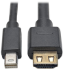 Mini DisplayPort 1.2a to HDMI Active Adapter Cable with Gripping HDMI Plug, HDMI 2.0, HDCP 2.2, 4K x 2K @ 60 Hz (M/M), 12 ft. -- P586-012-HD-V2A -- View Larger Image