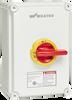 UL98 Motor Disconnect Switch, Polycarbonate Enclosure -- KEM360UL98 Y/R -Image