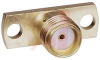connector,rf coaxial,sma 2-hole flange mount jack recept,flush dielectric -- 70090265