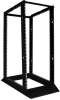 13U 4-Post SmartRack Open Frame Rack - Organize and Secure Network Rack Equipment -- SR4POST13