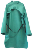 Chicago Protective Apparel Green XL Cotton Welding & Heat-Resistant Coat - 40 in Length - 564-GW-40 XL -- 564-GW-40 XL - Image