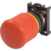 PUSHBUTTON, NON-ILLUMINATED EMERGENCY STOP OPERATOR, RED, PUSH-PULL -- 70057816 - Image