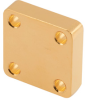WR-28 Waveguide Short Plate with 5mm Copper and UG-Cover Square Flange -- FMW28SP4 -Image