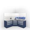 Technician Workcenter (Corner) -- RS-C010X -- View Larger Image