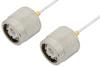 TNC Male to TNC Male Cable 36 Inch Length Using PE-SR047FL Coax, RoHS -- PE34280LF-36 -Image