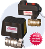 Sure Mount Actuated Brass Ball Valves -- SM Series
