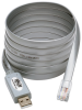 USB to RJ45 Cisco Serial Rollover Cable, USB Type-A to RJ45 M/M, 6 ft. -- U209-006-RJ45-X