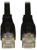 Augmented Cat6 (Cat6a) Snagless 10G Certified Patch Cable, (RJ45 M/M) - Black, 20-ft. -- N261-020-BK - Image
