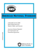 ANSI/ASSE A10.16-2009 Safety Requirements for Tunnels, Shafts & Caissons -- 250P