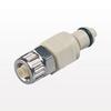 PMC12 Series Coupling Insert, Shutoff Polypropylene In-Line Ferruleless Polytube Fitting -- PMCD200412 -Image