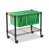 Alera Single-Tier Rolling File Cart, 24w x 14d x 21h, Black -- ALEFW601424BL