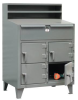 Multi-Person Locker Desk -- 44-SD-4D-TD-280