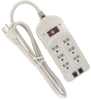 6ft Power Strip 3MOV with Fax -- 51W1-04 - Image