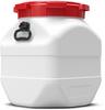 50 Liter Square Plastic Drum -- 7450