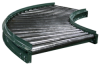 HYTROL Curved Sections for Gravity Roller Conveyors -- 7614101 - Image