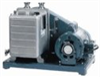 Rotary vane vacuum pump for corrosive gases, 0.9 cfm, 230 VAC -- GO-79201-05