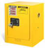 Justrite Countertop Flammable Safety Cabinet -- CAB122