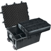 Pelican 1630 Transport Case with Padded Dividers - Black | SPECIAL PRICE IN CART -- PEL-1630-004-110 - Image
