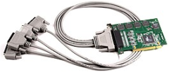 RS-232 to PCI adapter from Measurement Computing