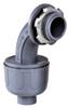 Sealproof Gray Nonmetallic Liquid-Tight 90 Conduit Connector -- 55020