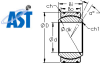 Rod Ends and Spherical Bearings -- GE100XT/X - Image