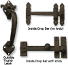 Solid Bronze Thumb Latch -- 850060