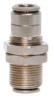 Brennan PCNB2700-04-04 Nickel-Plated Brass Push-to-Conne… -- PCNB2700-04-04
