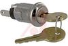 Keyswitch; 0.760 in. L x 0.640 in. W; 120 VAC; 1 A; 1; SPST;Off-(On);Screw -- 70155919 - Image