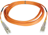 Duplex Multimode 62.5/125 Fiber Patch Cable ( LC/LC ), 405-ft (123M) -- N320-405