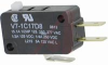 Switch, Miniature, Basic, SPDT, PIN PLUNGER Actuator, QUICK CONNECT TERMINATION -- 70118584