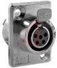 DIN Plug; Receptacle; 5; Female; 125; 5A; 0.010 Ohms (Max.); Copper Alloy -- 70214553