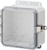 Nema and IP Rated Electrical Enclosure 6X6X3 -- P6063LPCLL