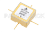 Surface Mount (SMT) Voltage Controlled Oscillator (VCO) 3.7 GHz to 4.35 GHz, Phase Noise of -106 dBc/Hz, 0.5 inch Hi-REL Hermetic -- PE1V13015 - Image