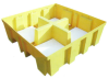 Premium Spill Containment Pallets - Pallet Pad -- PAL107