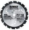 DEWALT Series 20 7-1/4 In. 18T Nail Cutting Circular Saw -- Model# DW3191