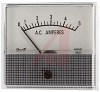 Ammeter, Electromechanical AC; 5 A; + 5%; 2.5 in.; Polystyrene; 850 Series -- 70136715